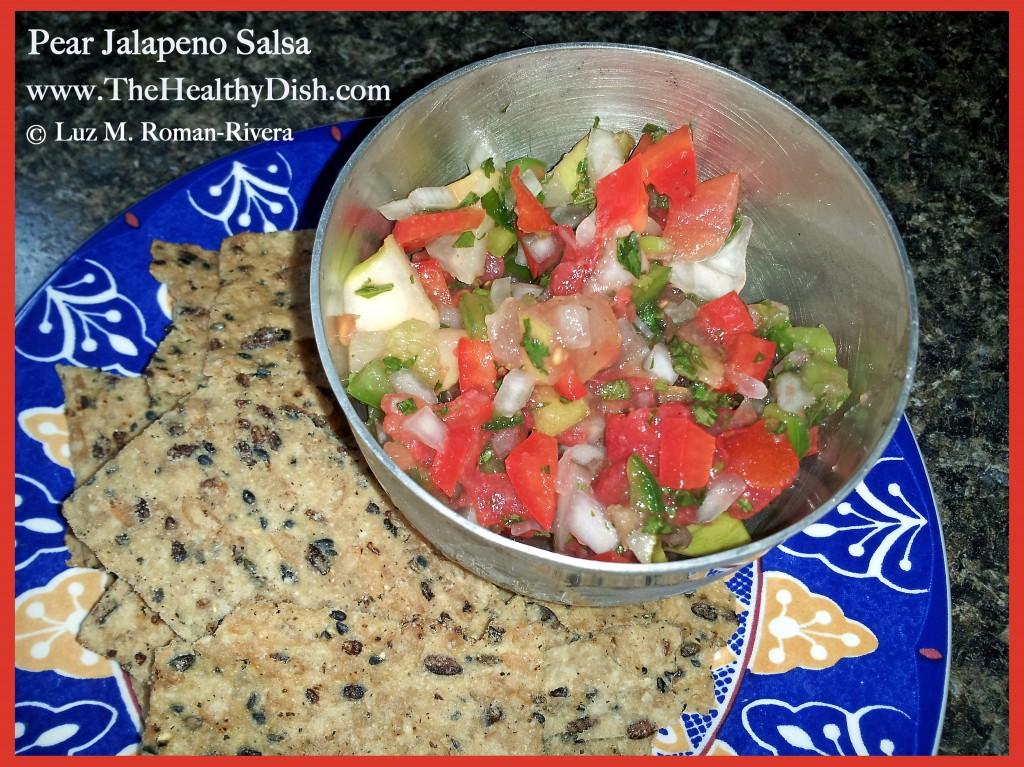 Pear Jalapeno Salsa