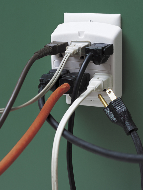 Overloaded Electrical Outlet (Photo: StateFarm)