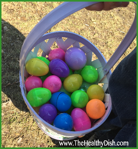 Easter Egg hunt - St. Mary's Church, Brookline, MA, 2015